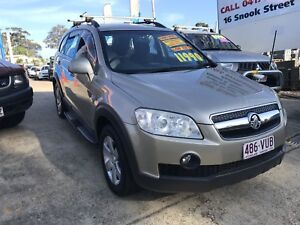 2008 Holden Captiva 7 seater wagon AWD 4x4 on demand