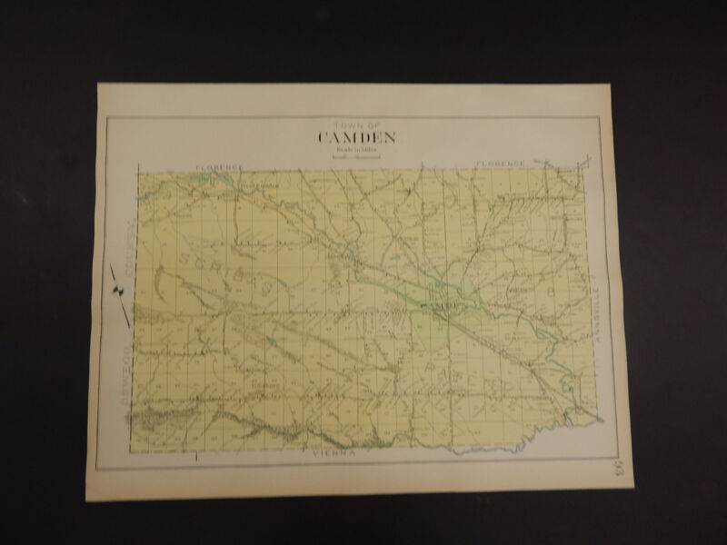 New York, Oneida County Map, 1907 Town of Camden R3#11