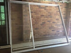 Triple sliding glass door with key Tamborine Mountain Ipswich South Preview