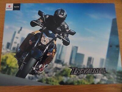 Suzuki Inazuma 250 Motorcycle Sales Brochure 2012