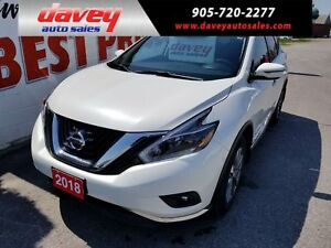 2018 Nissan Murano SV AWD, SUNROOF, NAVIGATION