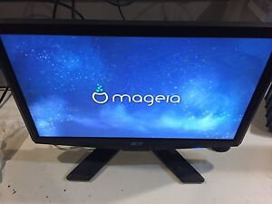 "18"" Acer LCD monitor"