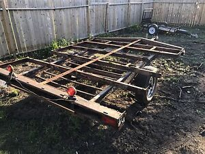 8x10 Double sled trailer
