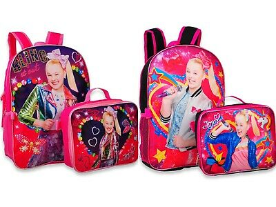 Bags Boxes Bows - JoJo Siwa Girls School Backpack Lunch box Book Bag Bow Dance Dream Kids Toy Gift