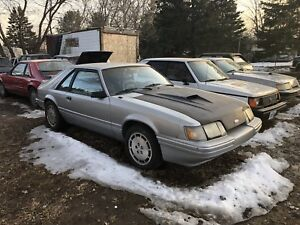 2 svo's for sale. 1985.5 and 1986 mustang svo