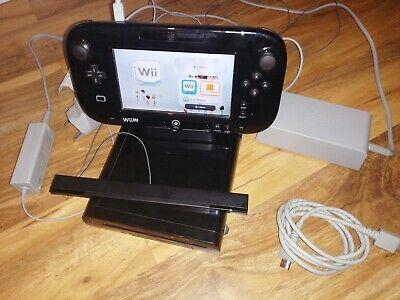 Nintendo wii u console 32gb black