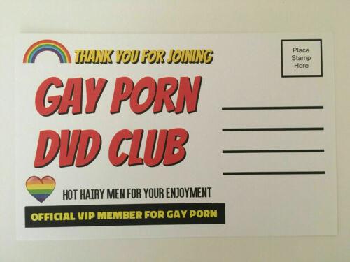 Adult PRANK Mail Postcards Funny Joke Revenge Gag Gift Love Gay - 4 Pack