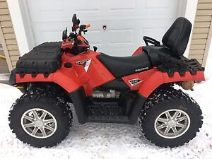 POLARIS SPORTSMAN TOURING EPS 850HO. VRAIS DEUX PLACE.