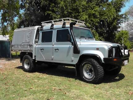 2012 Land Rover Defender 130 dual cab Mackay 4740 Mackay City Preview