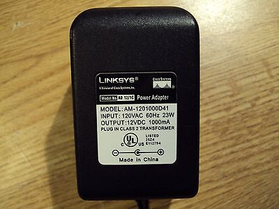 DC AC Adapter For LINKSYS AM-1201000D41 OEM Power Supply Cord Wall Charger
