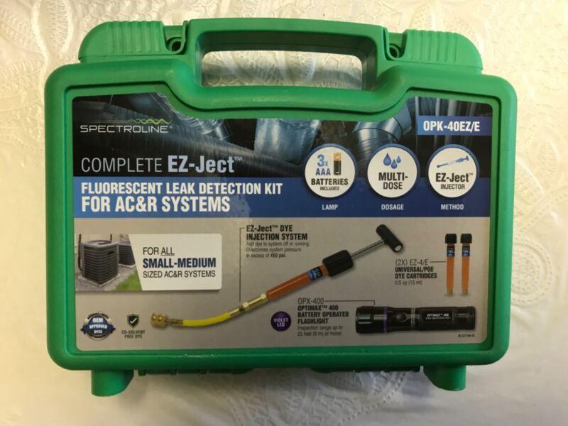 Spectroline EZ-Ject Fluorescent Refrigerant Leak Detection Kit