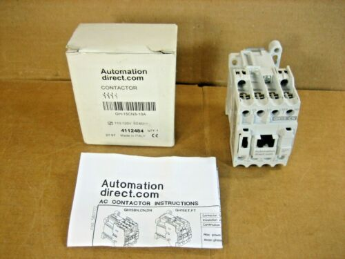 AUTOMATION DIRECT GH-15CN3-10A 110-120V CONTACTOR  -  NEW