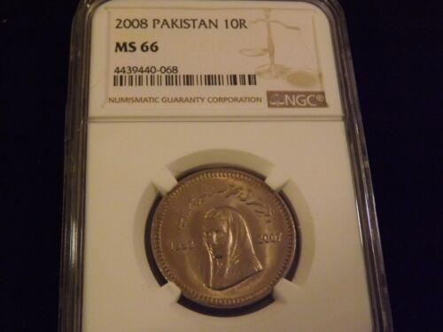 2008   10 R   Pakistan       NGC MS 66