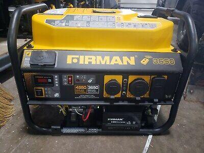 Used Firman P03603 Performance Series 35604550 Remote Start Portable Generator
