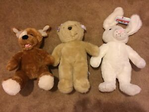 3 Build-a-Bears and Various Accessories