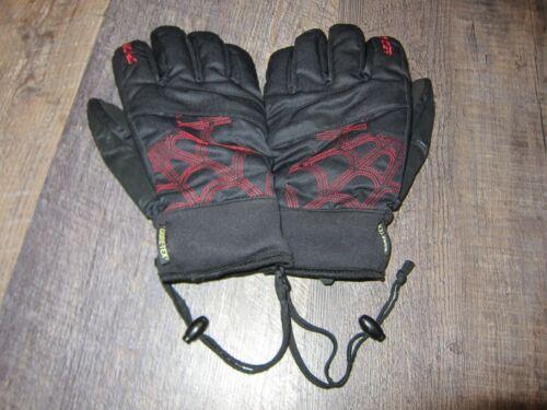 Spyder BLACK GORE-TEX Glove Ski Snowboarding Gloves, Size M