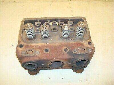 1963 Case 831 Tractor Cylinder Head 830