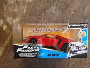 Fast & Furious Lykan Hypersport 1:24 Jada Toys Adelaide CBD Adelaide City Preview