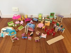 Sold pending payment - Le toy van wooden Dolls house furniture Watsonia Banyule Area Preview