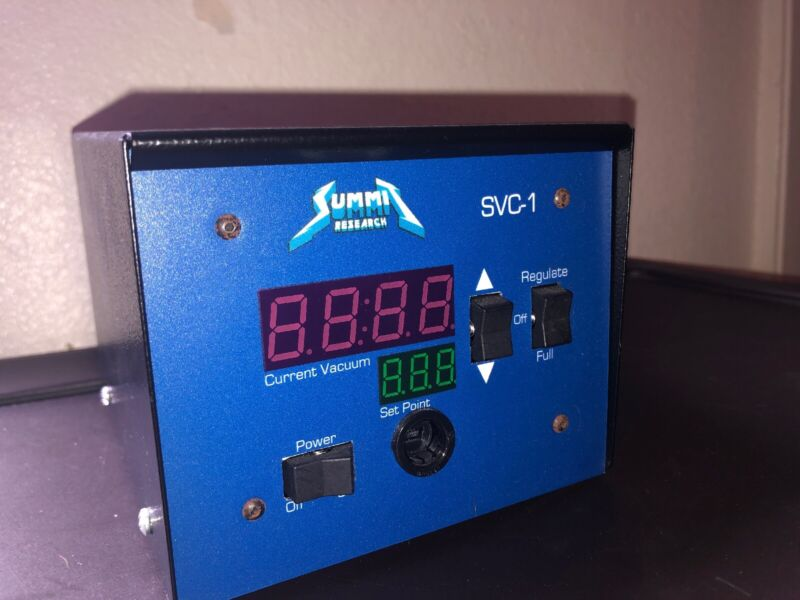 **Summit Research Vacuum Regulator SVC1 Tested And Working**