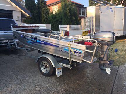 Seacraft Adventurer 360 Tinny with 15 Hp Yamaha