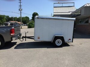 Inclosed trailer for sale 4x8