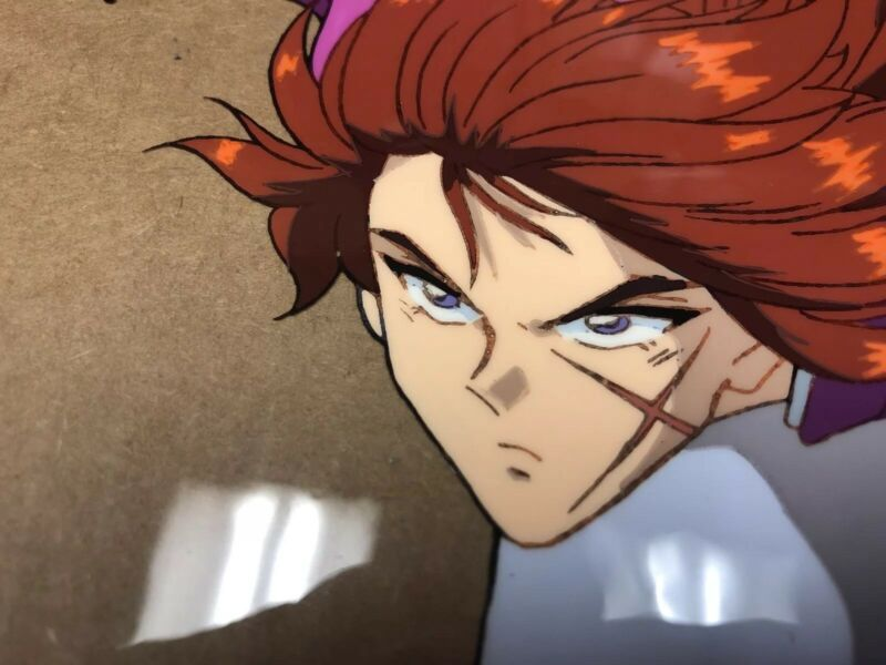 Rurouni Kenshin Original Hand Painted Production Cell B5 Epic Art Samurai X Cel