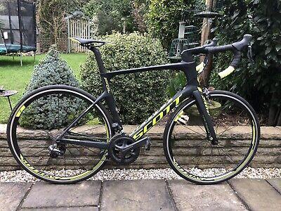 Scott Foil 10 Carbon Road Bike Di2 Excellent Condition Medium 54cm