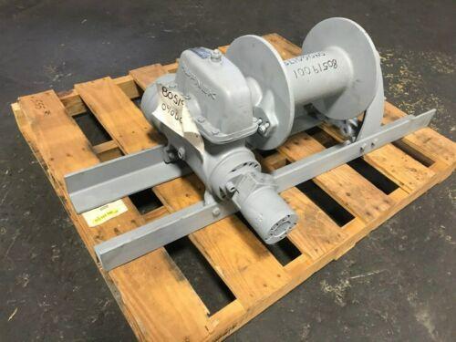Tulsa Rufnek Winch 15,000 lbs Line Pull, Hydraulic Worm Gear New RN15WH-RFO