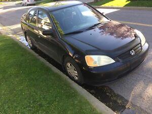 Honda Civic DX 2003 automatique nego*