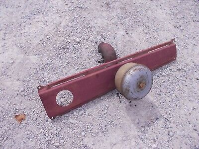 Farmall Ih 560 460 Tractor Top Center Hood Panel Cover Precleaner Topper Hose