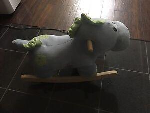 Dinosaur Rocker (Rocking Horse)