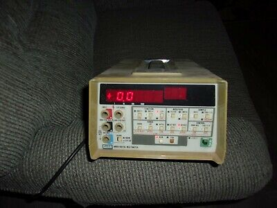 Vintage Fluke 8860a Digital Multimeter