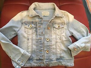Zara girl jacket size 7/8 years old
