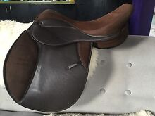 """Brown Thorowgood Griffin saddle, 17"""", wide gullet Hobart CBD Hobart City Preview"""