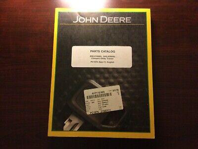 John Deere 850 And 950 Tractor Parts Catalog