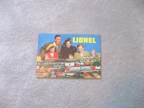 1949  LIONEL CONSUMER CATALOG ORIGINAL  EXCELLENT