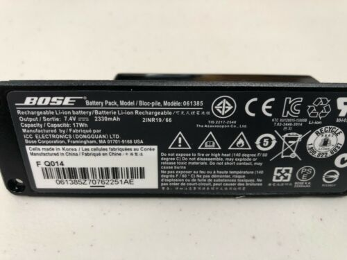 Authentic Bose SoundLink Mini Replacement Battery Great Condition Great Deal