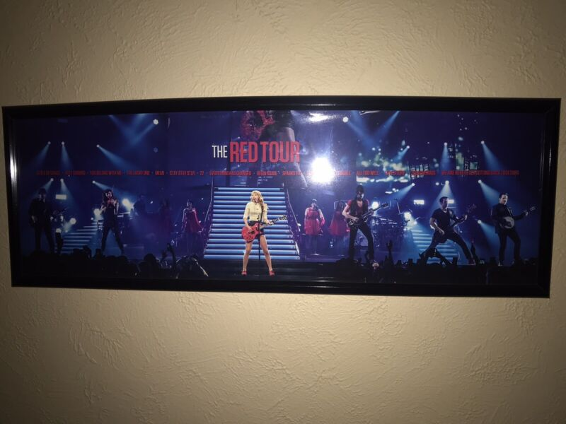 Taylor Swift The Red Tour Lithograph