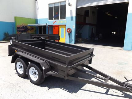 NEW AUSTRALIA MADE 8X5 HEAVY DUTY TANDEM WITH NEW TYRES & RIMS Gold Coast Region Preview
