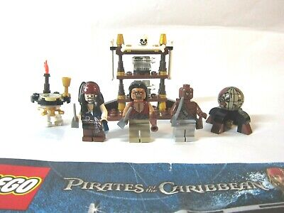 Lego 4191 The Pirates of the Caribbean Captain's Cabin Complete w/ manual