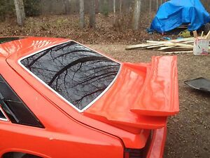Rear wing/spoiler & hatch off a 1980 Capri