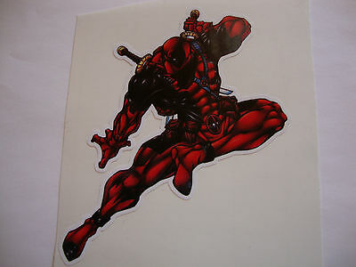 "4"" DEADPOOL STICKER + 2 OTHER 4"" DISNEY CARTOON CHARACTERS of YOUR CHOICE"