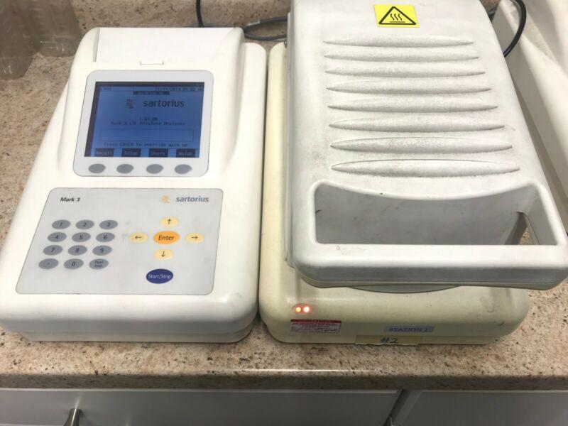 Used Sartorius LMA100P Electronic Moisture Analyzer Mark 3 LTE