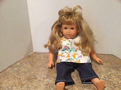 "Corolle Doll 17"". Blonde,  Blue Eyes"