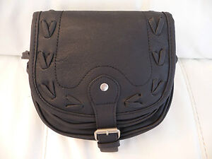 LADIES ACROSS THE BODY SMALL 2 COMPARTMENT ADJUSTABLE HAND BAG BRAND NEW