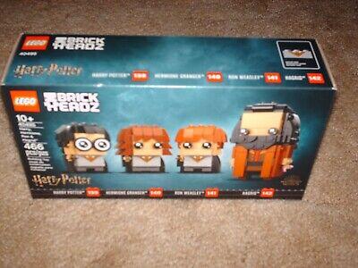 Lego Harry Potter Brick Headz Harry Hagrid Ron Hermione #40495 New/Sealed Set