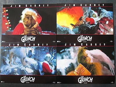 DER GRINCH - 8 Aushangfotos - Jim Carrey - Weihnachten (Weihnachten Grinch Foto)