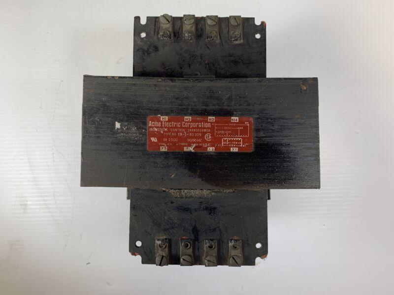 Acme Industrial Control Transformer TA-1-81309 1 kVA