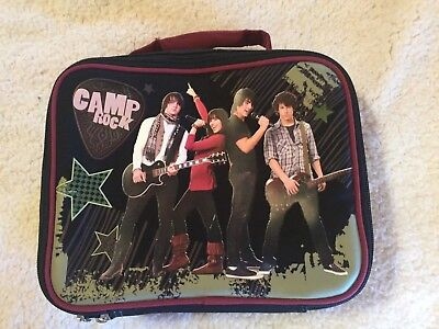 DISNEY CAMP ROCK SOFT LUNCHBOX JONAS BROTHERS DEMI LOVATO Camp Rock Lunch Box